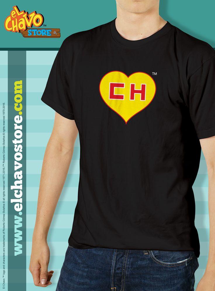 El Chapulin Colorado Heart T-Shirt