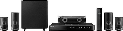 awesome Samsung - 5 Series 1000W 5.1-Ch. 3D  Smart Blu-ray Home Theater System - Black - For Sale