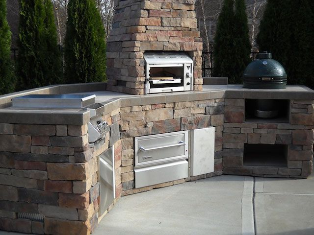 22 Best Images About Outdoorkitchen On Pinterest Built Ins In The Garden And Outdoor Oven