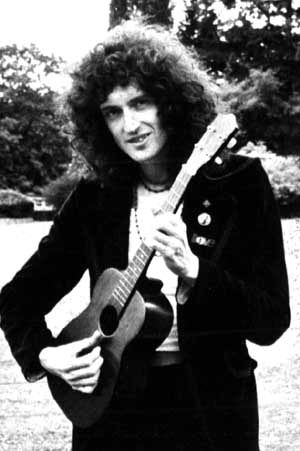 Brian May of Queen. Lovely man.