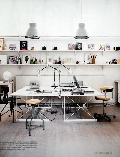 Desk lamp ideas for your modern home office | www.contemporarylighting.eu | #contemporarylighting #homeoffice #lightingdesign