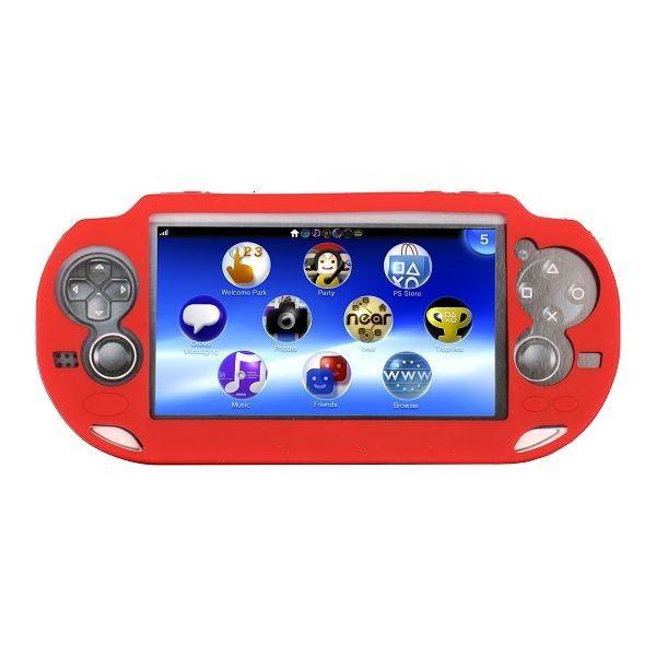 Soft Shell (Punainen) Sony PlayStation Vita Silikonisuojus