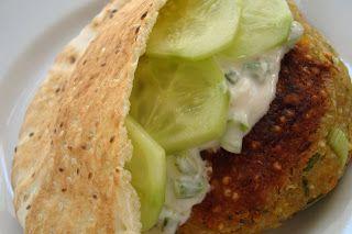 ... Greek-Style Quinoa Burgers | Main Yummy | Pinterest | Quinoa, Burgers