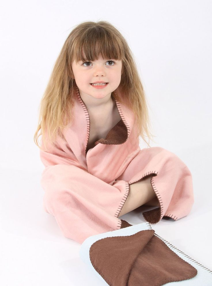 Bamboo Baby Blanket Pink/Brown