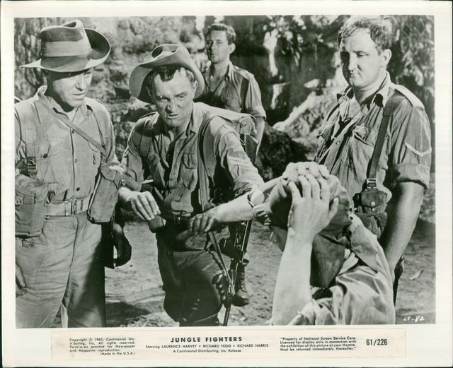 S 0991 Jungle Fighters Richard Harris Richard Todd Ronald Fraser John Meillon