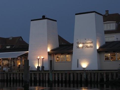 Denmark's legendary and renowned Fish Restaurant Rudolf Mathis, Kerteminde at the island Funen #Denmark