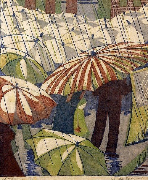 Ethel Spowers 'WET AFTERNOON' 1930