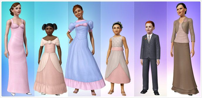 17 Best Images About Victorian Sims3 Clothing On Pinterest