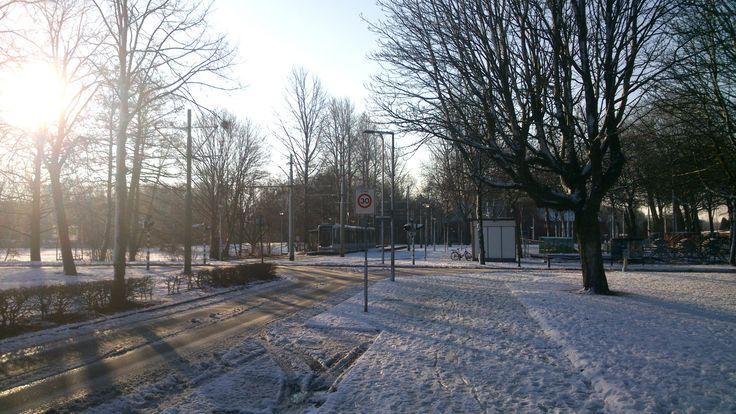 Oud Charlois, eindpunt lijn 2. Datum foto: 28-12-2014