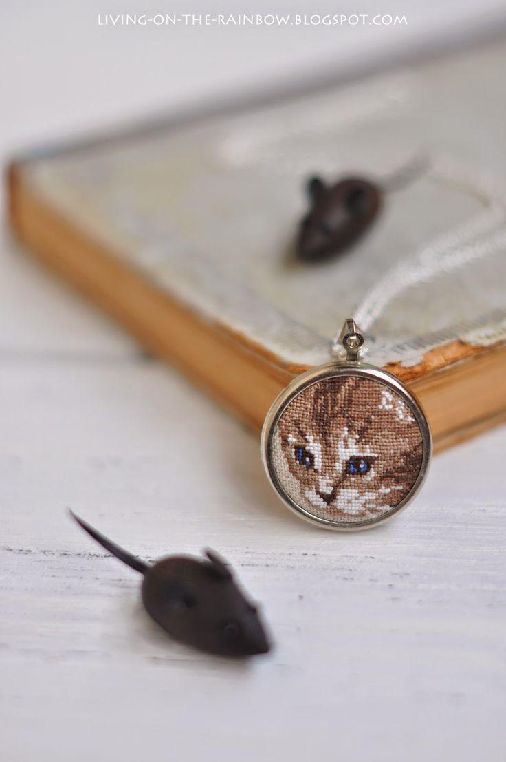 Медальон с Котом / Cat Necklace