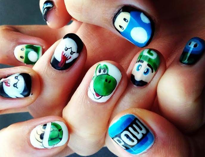 11 best Nail art, cute Japanese nails images on Pinterest | Japanese ...