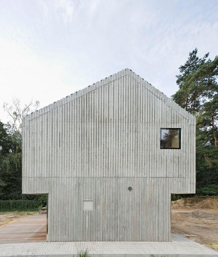Augustin und Frank Architekten - Beach house, Saarow 2013.
