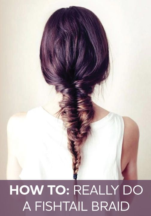 how to do a fish plait braid