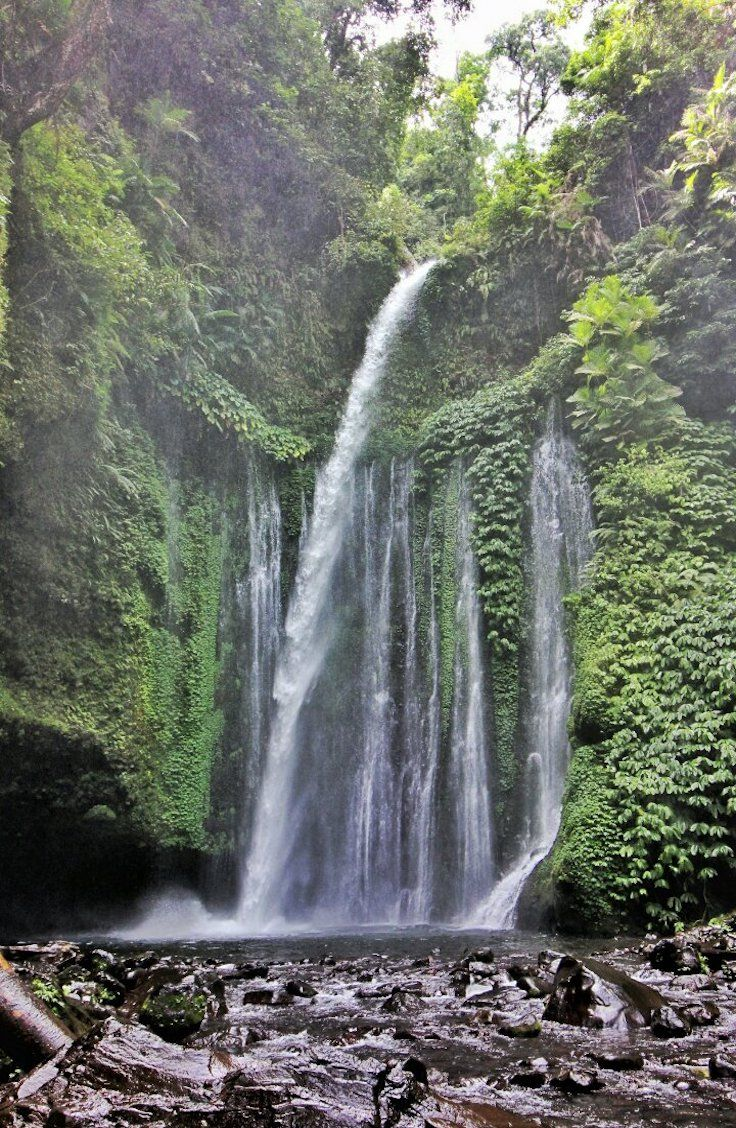 Tiu Kelep Waterfall, Indonesia: GUIDE