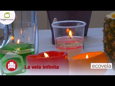 Cómo hacer una vela infinita y ecológica en 5 minutos!! - YouTube