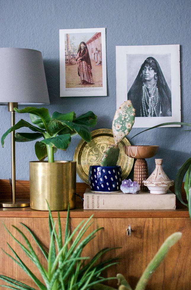 Urban Jungle Bloggers: Plant Still-life Desert
