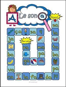 """Jeu intéractif et gratuit sur le son """"a"""". Très amusant pour les élèves!"""