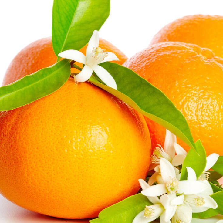 Reduce stress and improve symptoms of meopause with neroli oil.