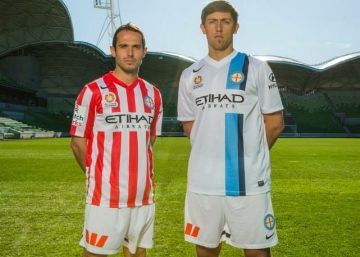 Melbourne City FC 2014/15 Nike Home and Away Kits