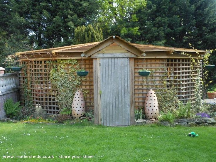 Woodhenge  is an entrant for Shed of the year 2012 via @unclewilco