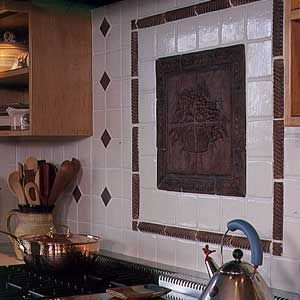 """Everything you need to know about adding a tile, solid-surface or— surprise—even a metal or glass backsplash. """"Backsplash Bonanza"""" via This Old House"""