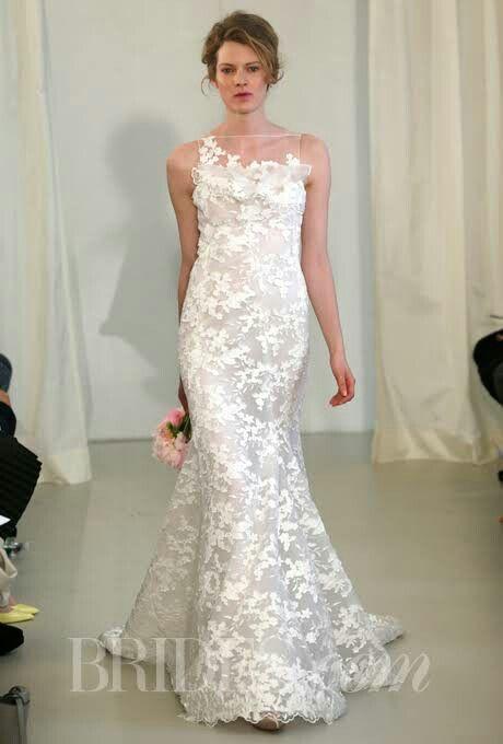 11 best Illusion Neck Line images on Pinterest | Wedding dressses ...