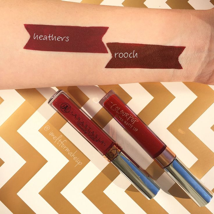 Anastasia Beverly Hills Heathers vs Colourpop Rooch