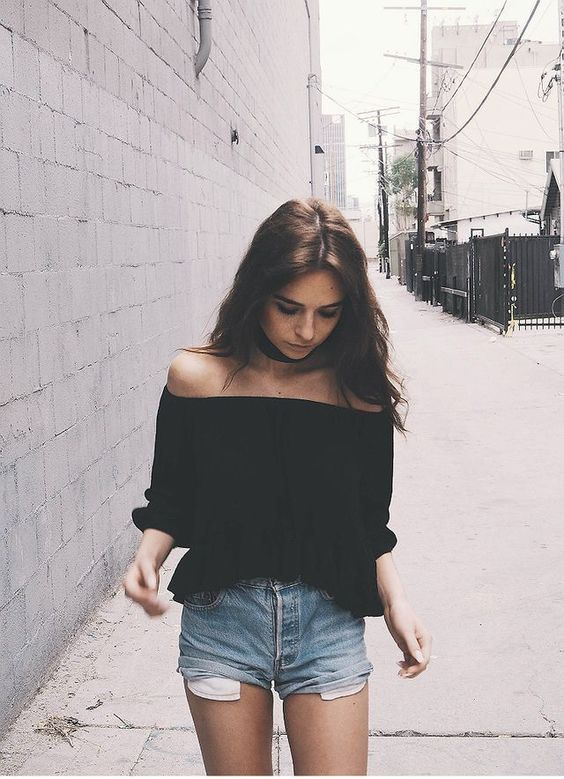 off shoulder outfits