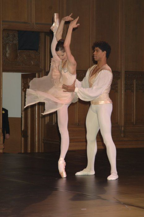 Darcey Bussell and Carlos Acosta! I wish I knew what came next...