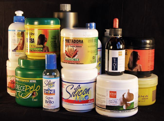 Dominican hair-care products - now they can all be shipped to any country.