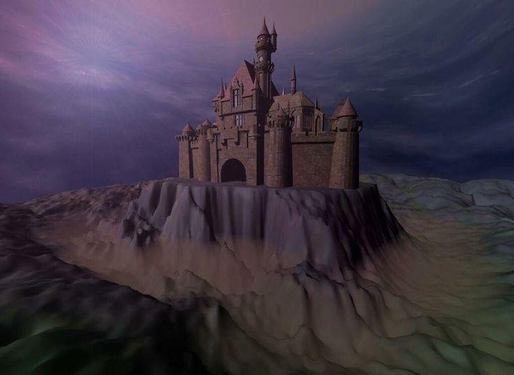 Fantasy art - Wallpapers - wallpaper Digital Art 3D castle.jpg (1021×746)