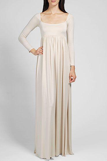 Rachel Pally Official Store, ISA DRESS, cream, Rachel Pally : Dresses : Long Dresses, FA12740D