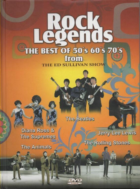 Ed Sullivan Show : Rock Legends - The Best Of The 50s, 60s, 70s Volume. 1-5 (2 DVD Set)