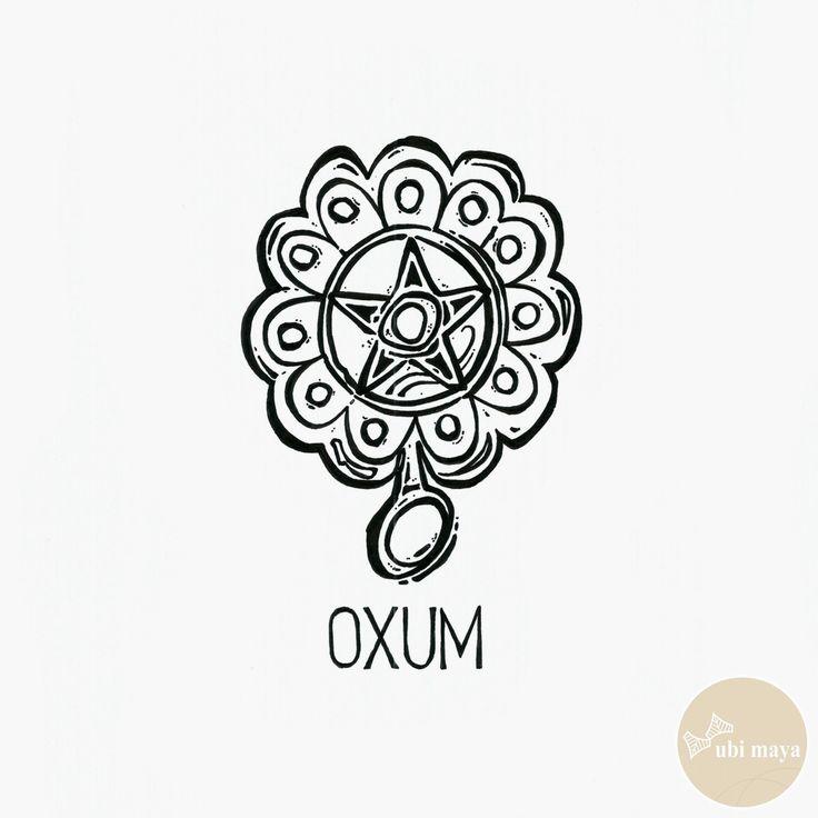 """OXUM - DA SÉRIE: """"AS ARMAS DOS ORIXÁS"""" - See https://s-media-cache-ak0.pinimg.com/originals/73/5c/ea/735cea7e72012006c75b4dea1c313da2.jpg"""