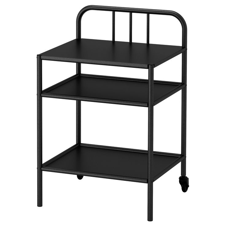 IKEA - FYRESDAL, Comodino, , Puoi abbinarlo a un letto divano e spostarlo facilmente quando vuoi aprire il letto.Il comodino è facile da spostare grazie alle rotelle.