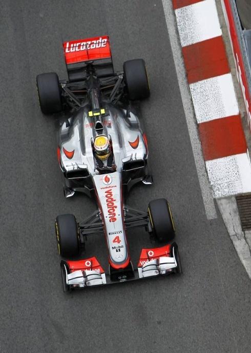 2012 Formula One - Monaco Grand Prix qualifying: Lewis Hamilton is the favorite.