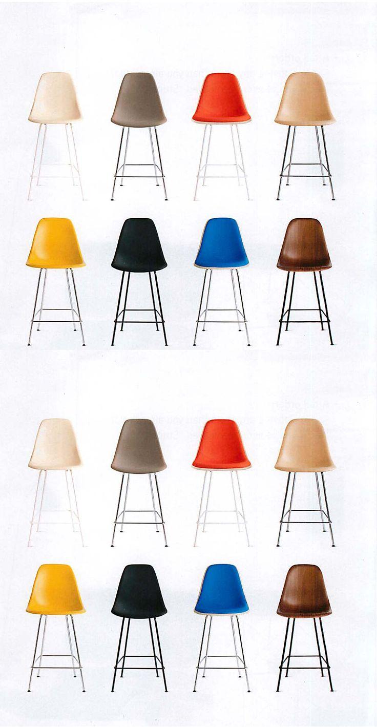 @dwrpins  #shellspotting  Eames bar stools