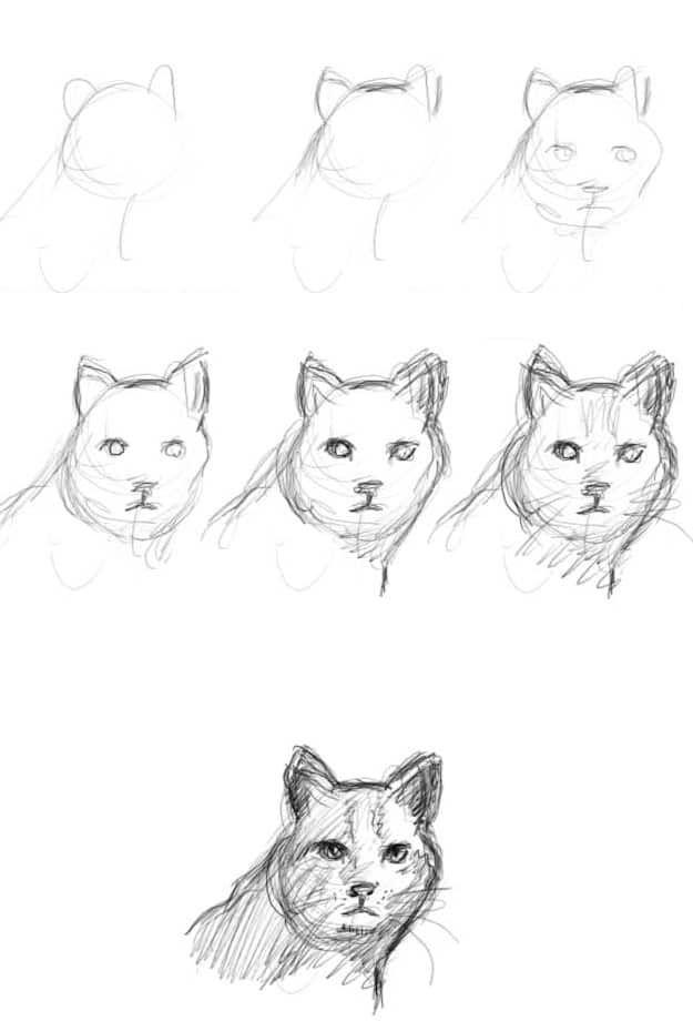 Como Aprender A Dibujar Desde Cero Facil Es Dibujar Como Aprender A Dibujar Aprender A Dibujar Girasoles Dibujo