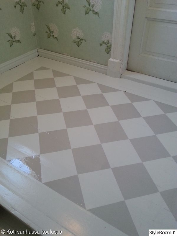 matto,lattia,Tee itse - DIY,teippaus,ruudutus