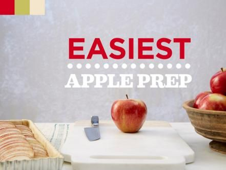 Learn how to prep apples for tarts and pies like a pro, and tune in to Food Network's Holiday Baking Championship on Sundays at 9|8 cformore holiday baking tips and ideas.