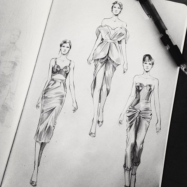 Fashionary Hand - A Fashion Illustration Blog Matthew Chow