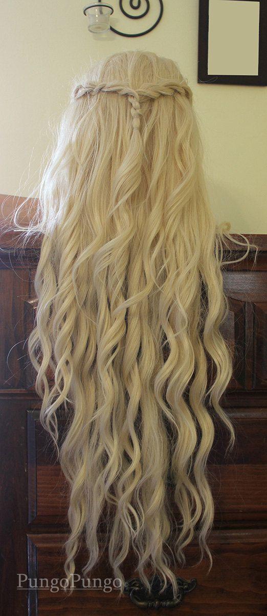 Daenerys Targaryen Wig Season 4 Styled Platinum by PungoPungo
