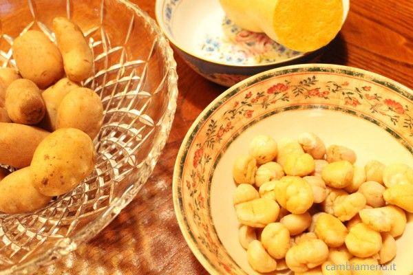 Cambia Menu » Purè di patate dolci, zucca e castagne | Ricette