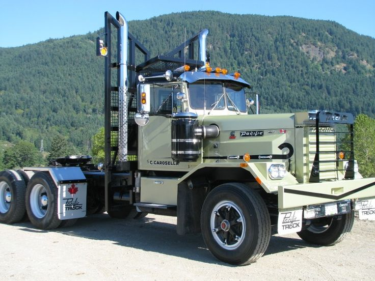 Mack Truck Concept : Pacific p ford f custom med duty