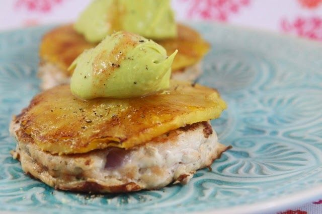 More than Words: Turkey Open Burger with Chargrilled Pineapple and Avocado Cream