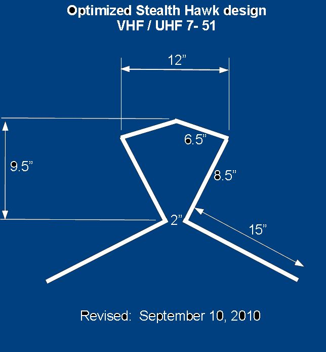 Building The Stealth Hawk TV Antenna (See Post #304)