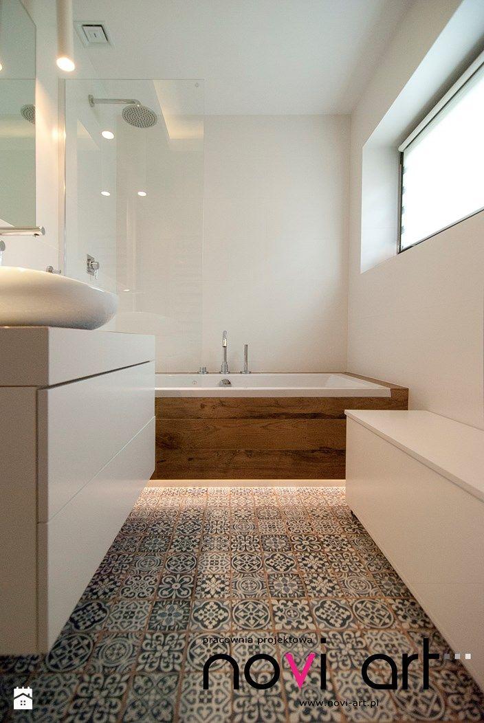 Łazienka styl Minimalistyczny - zdjęcie od Pracownia projektowa Novi art