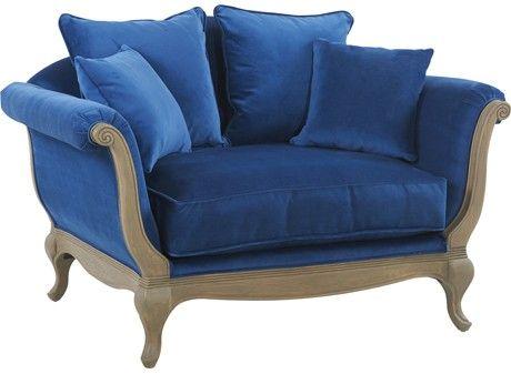 Canap love seat pompadour 1 5 place - Achat canape en ligne ...