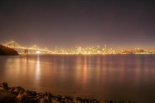 San Francisco From Tresure Island