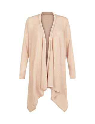 Cameo Rose Stone Waterfall Cardigan  | New Look